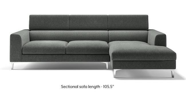 L Shaped Sofa  Check L Shape Sofa Set Designs   Price   Urban Ladder Chelsea Adjustable Sectional Sofa  Grey   Grey  None Custom Set   Sofas