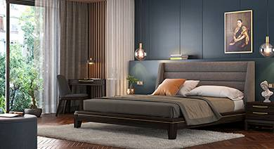 Bedroom Furniture Online  Buy Bedroom Furniture Sets Online for Best     Taarkashi Bedroom Sets
