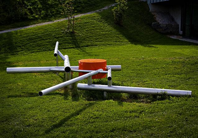Interaktiv utsmykning av Viel Bjerkeset Andersen og  Øyvind Brandsegg Foto: Kim Andre Ramberghaug