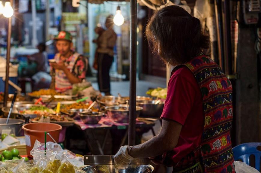 Marché de nuit Chiang Mai