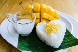 Recette mango sticky rice