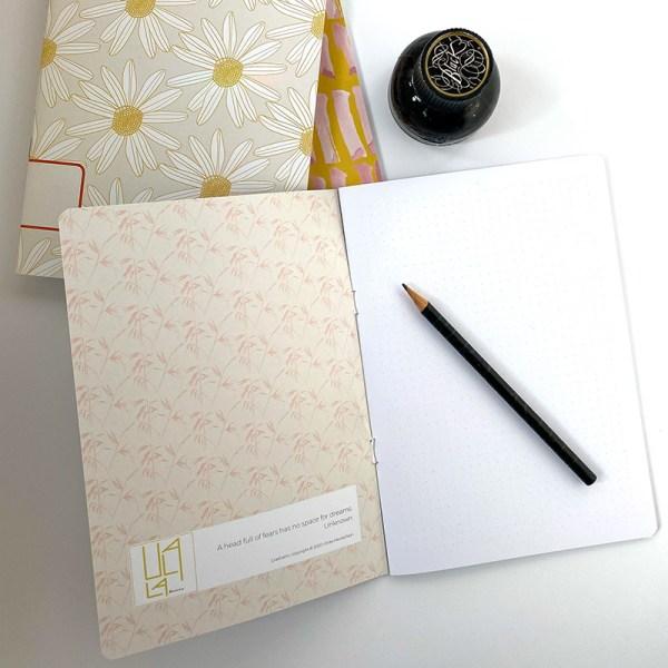 Notizbücher mit Tusche, 2020 Ulala-Vienna