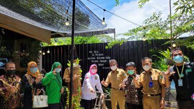 Anggota DPD RI Dukung TBM Rumah Lentera Air Terbit Pasaman