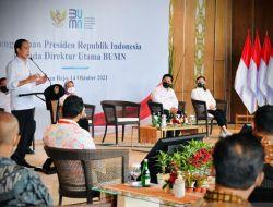 Presiden Jokowi Beri Waktu bagi BUMN Untuk Perubahan Fundamental Berdaya Saing
