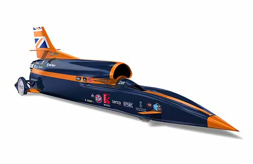 Supersonic Car Bloodhound SSC