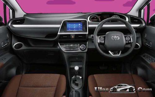 Interior Toyota All New Sienta