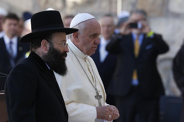 Juden und Christen warten auf die Ankunft desjenigen, der alle Fragen beantworten kann