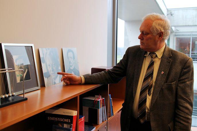 Uli Freese in seinem Abgeordneten-Büro im Paul Löbe-Haus in Berlin (Foto: M. Heger)