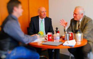 Thomas Jurk, MdB und Ulrich Freese, MdB