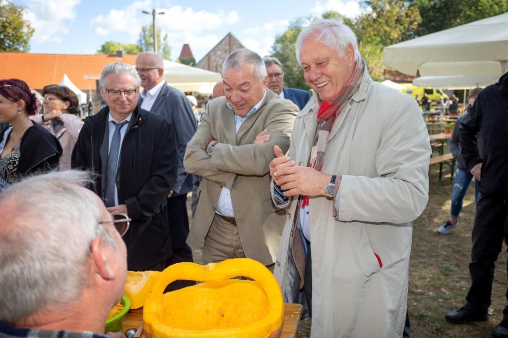Erntedankfest der Bergbau-Bauern in Steinitz (Foto: A. Franke)