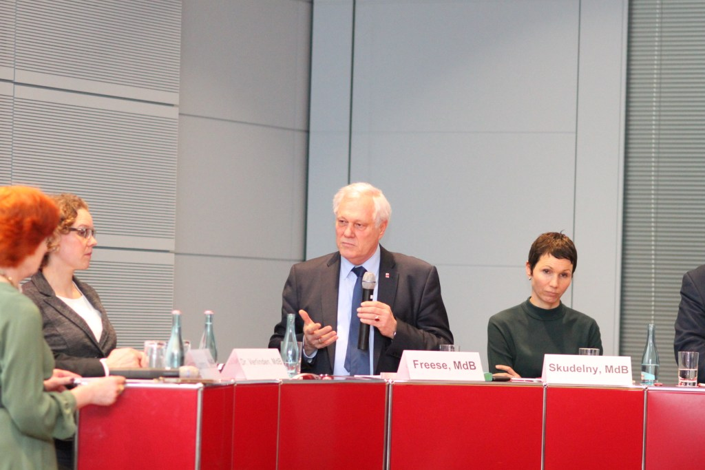 Ulrich Freese, MdB beim Forum Zukunftsenergien e.V. am 13. Feburar 2019 in Berlin