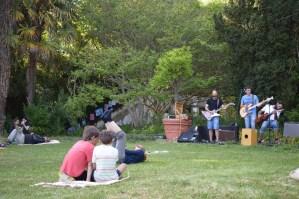Conciertos en Viveros de Ulia, en la Fiesta de Primavera, los Rubio