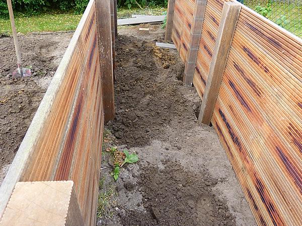 Neues Hochbeet Und Restarbeiten Am Zaun Tage Wie Diese