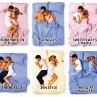 Posisi Tidur Kamu dan Pasangan