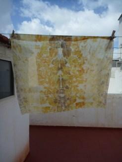silk scarf/ pañuelo de seda