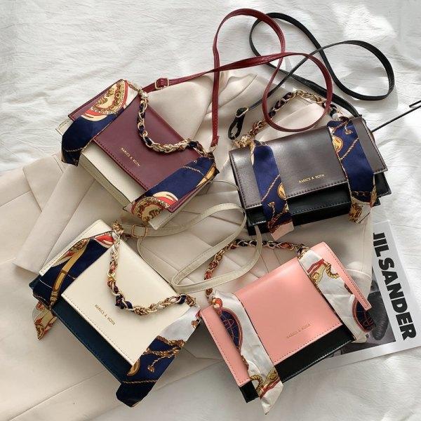 The new women's bag autumn/winter fashion chain one-shoulder