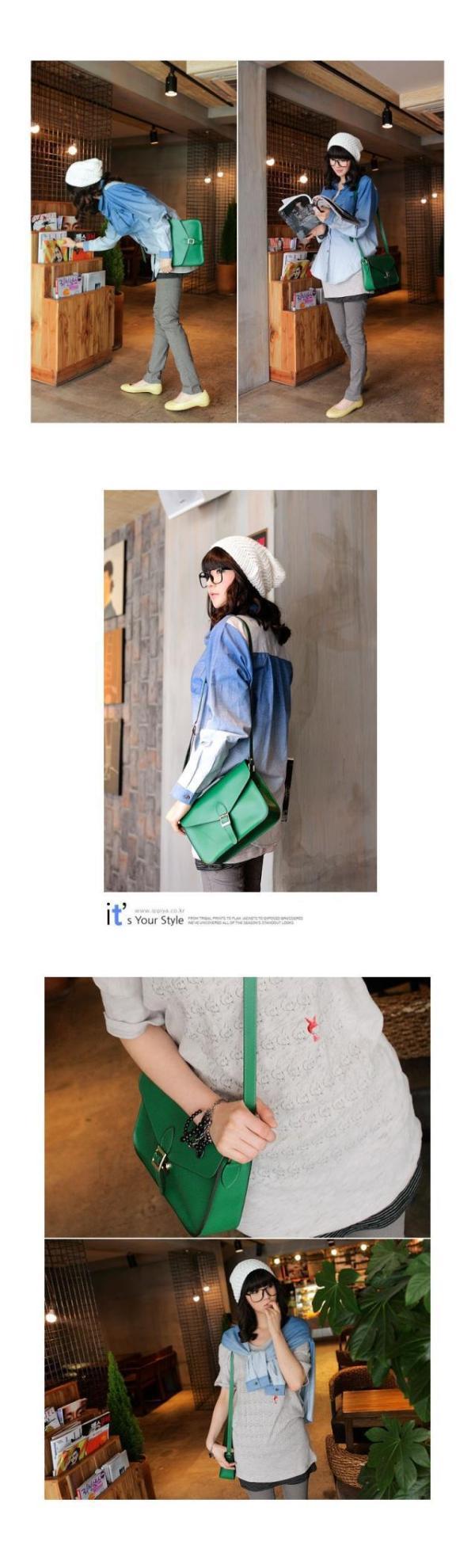 Zhang Nala one-shoulder oblique cross bag