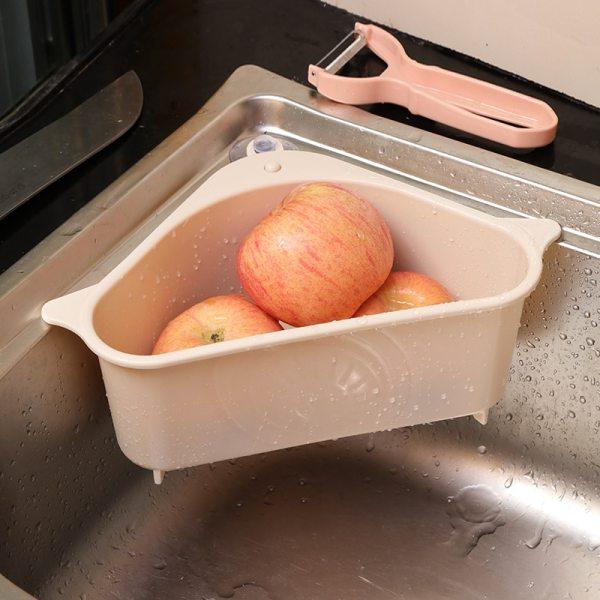 Kitchen Sink Multifunctional Hanging Storage Rack Washing Bowl Sponge Drain Rack Home Kitchen Gadget Bathroom Accessories