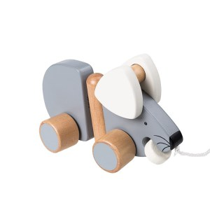 Eco Friendly Wood Elephant Toy for Baby