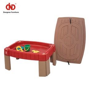 Wholesale New Design Colorful Sandbox Kids Table Sand and Water Play Table Kids Sand Water Table