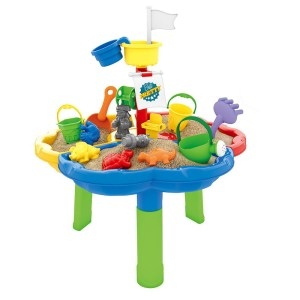 2021 Kids Summer Toys DIY Assembly Table Beach Sand Set 14PCS Water Table Play Toy For Kids