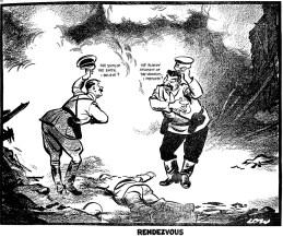 Deal between dictators
