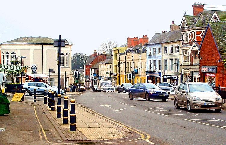 Lutterworth Town Centre