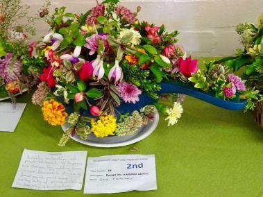 Ulles PS flowers in collander
