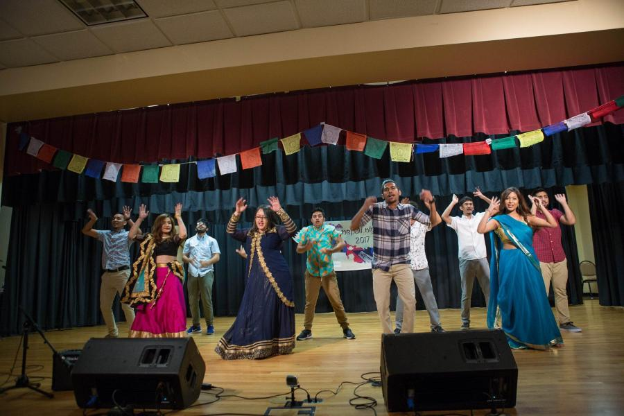 Nepalese students give ULM a taste of home