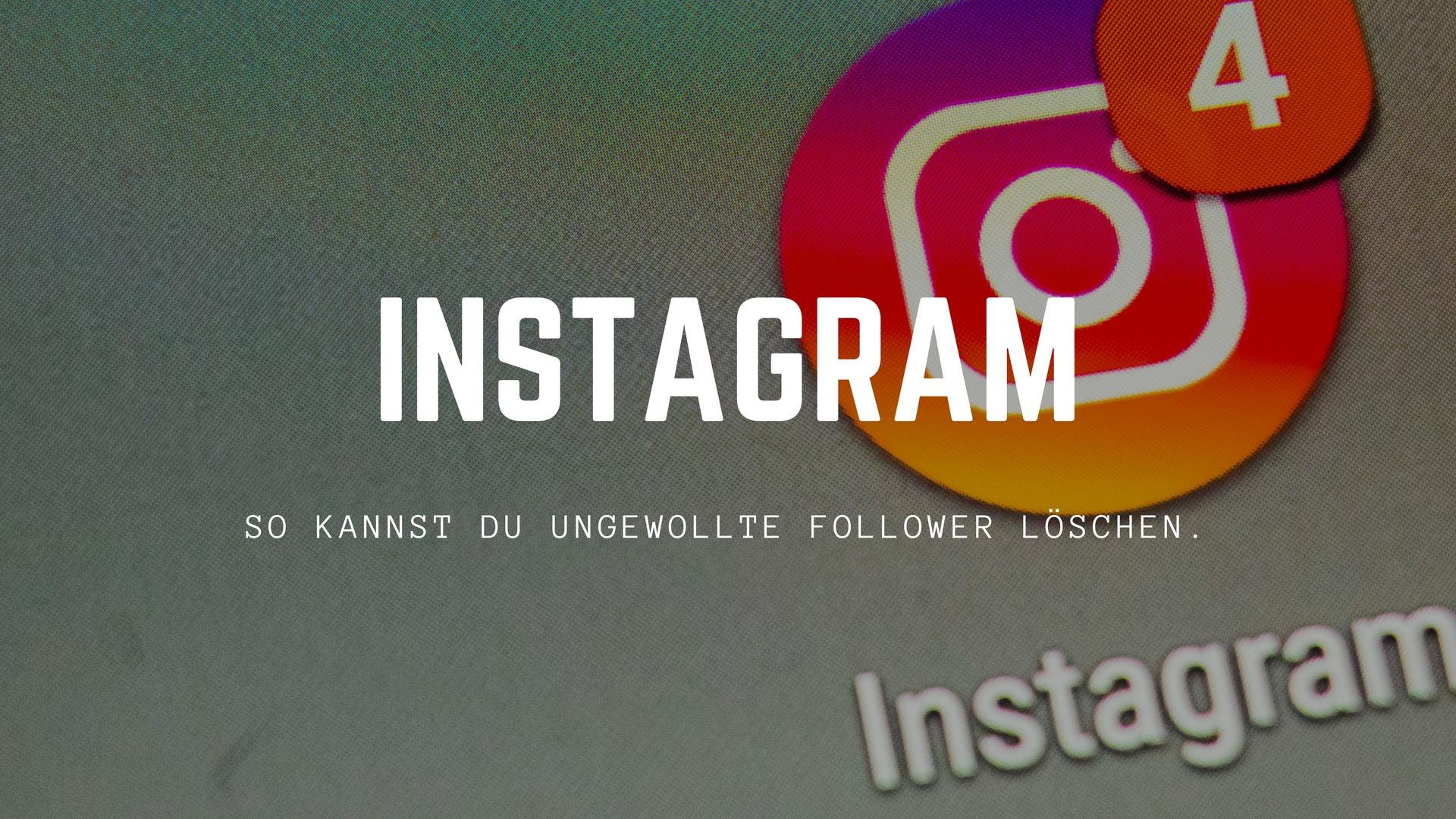 Instagram personen blockieren