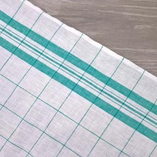Green Windowpane Toweling