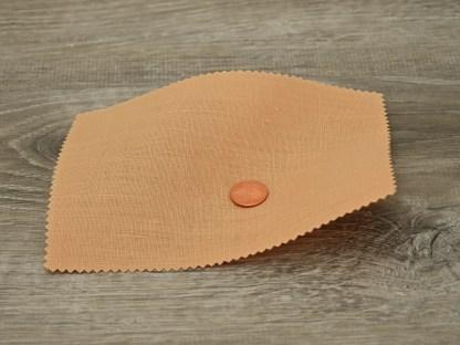 Medium Weight Light Copper Linen fabric