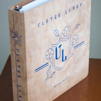 Ulster Linen Fabric Book