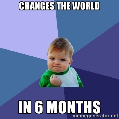 6 month meme