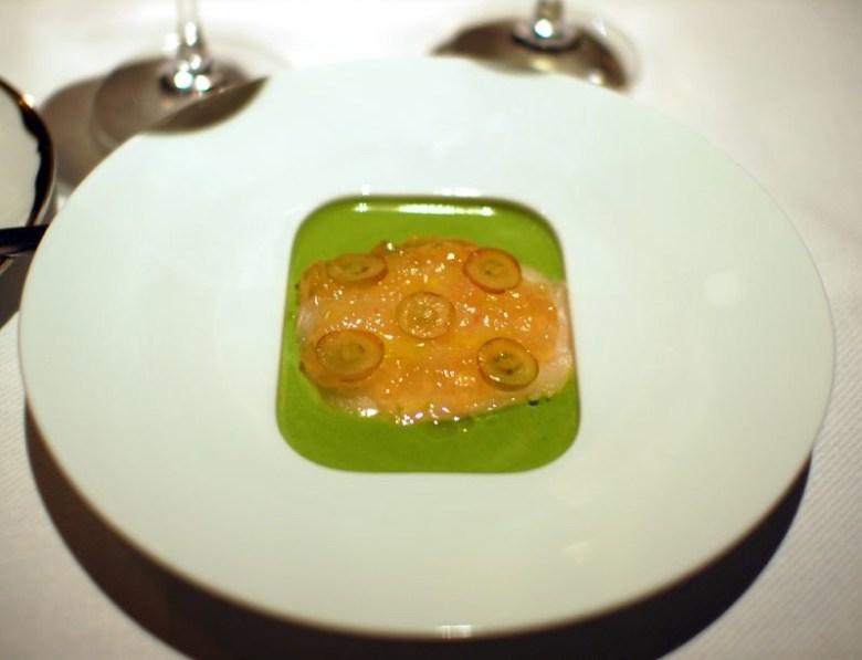 Sashimi of Madai (Spring Tasting)