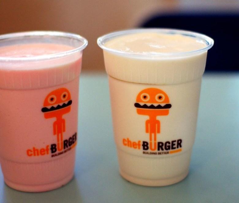 chefBurger Milkshakes