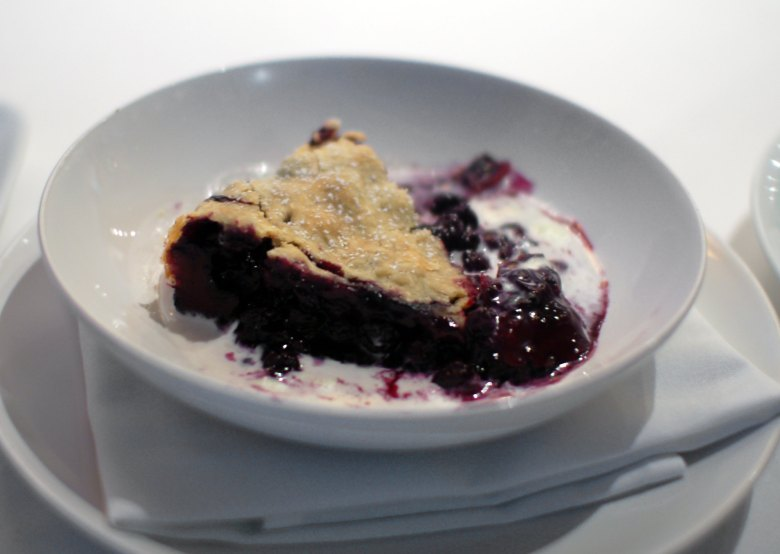 Texas Blueberry Pie