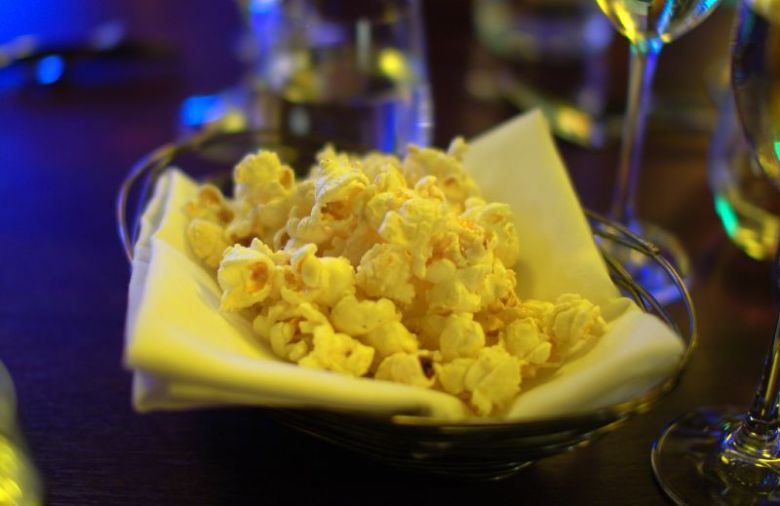 lime-brown butter popcorn