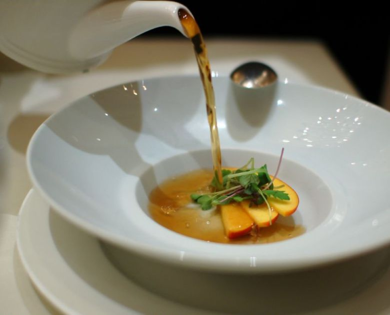 Chilled Lobster Consommé