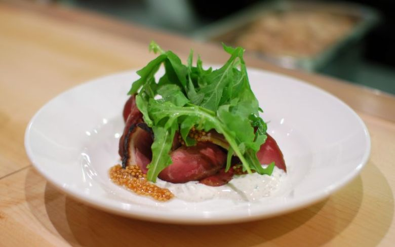 Smoked Hudson Valley Duck Breast