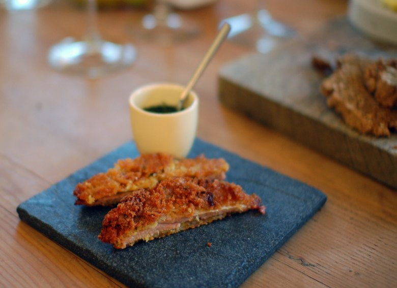 Monkshill Farm Breaded Lamb's Belly