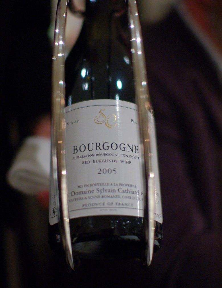 Domaine Sylvain Cathiard Bourgogne 2005