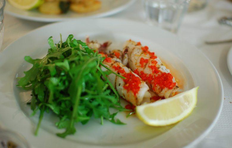 Calamari ai Ferri