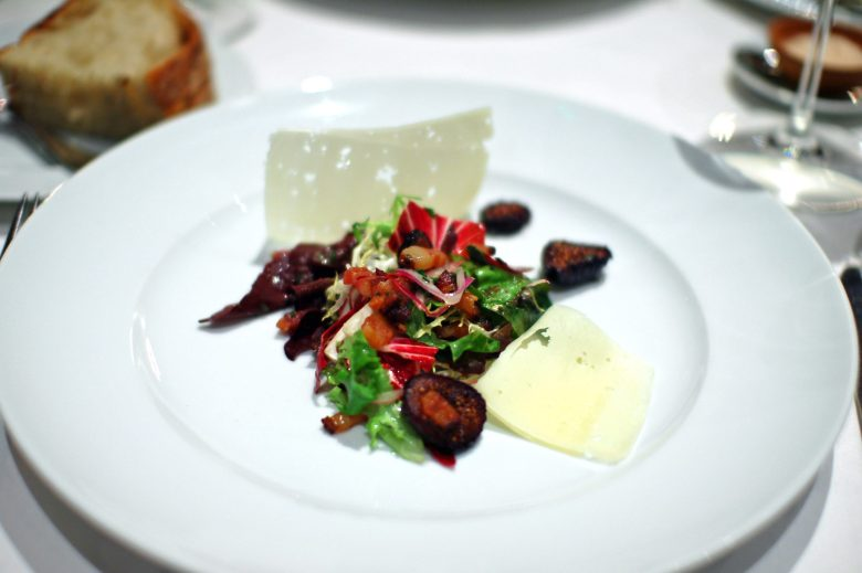 2nd Course: Warm Salad of Young Lettuces