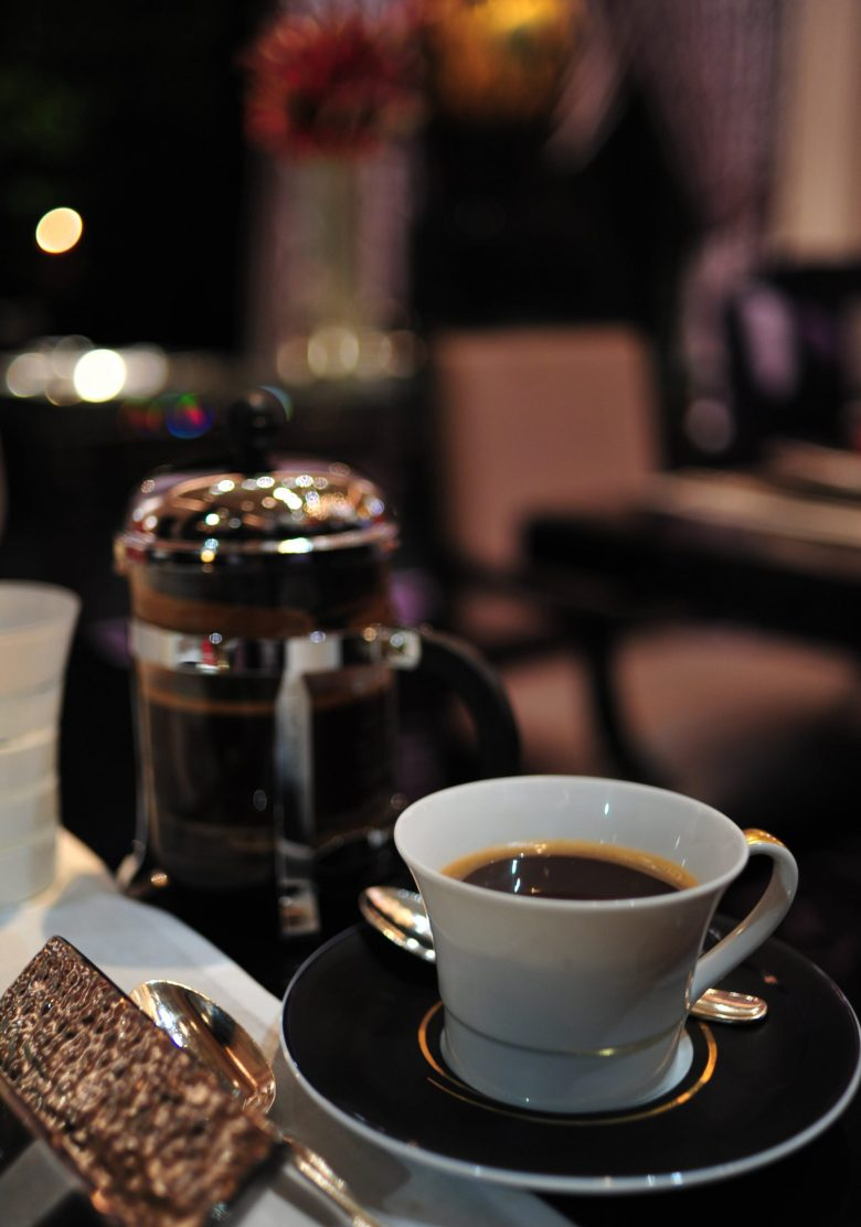 French-Pressed Coffee