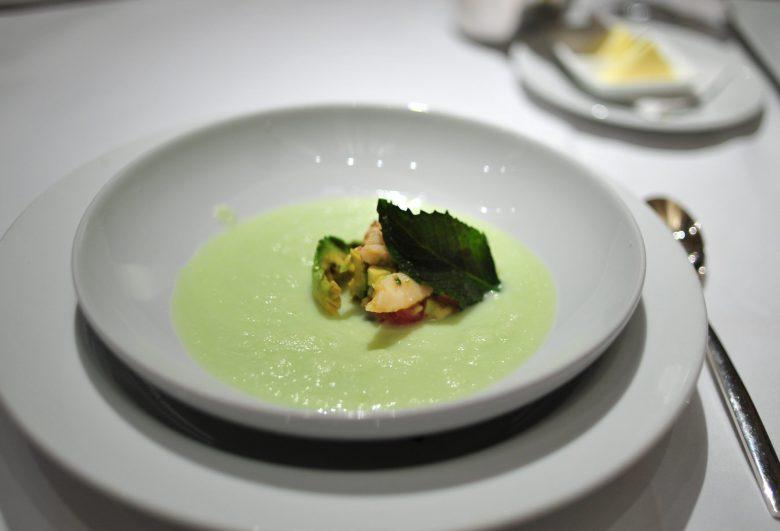 Soup: Chilled Melon Soup