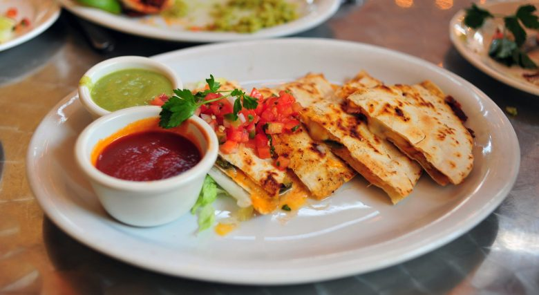 Guava BBQ Duck Quesadillas