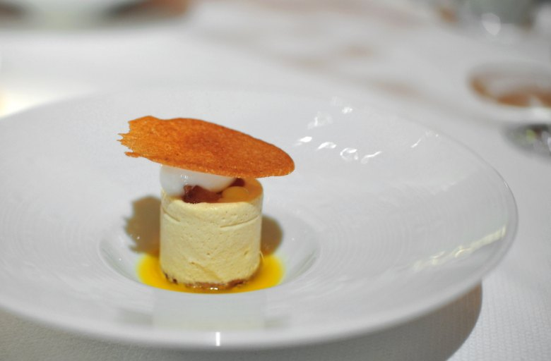 7th Cousre: Chestnut (Chef's Tasting)