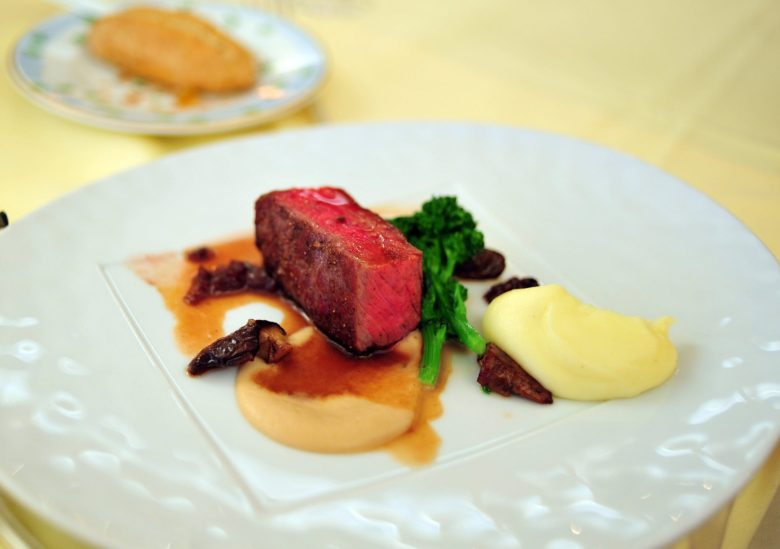 4th Course: Dry Aged New York Striploin