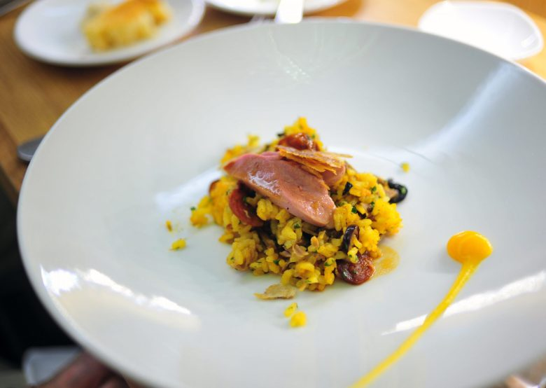 5th Course: Arroz de Pato